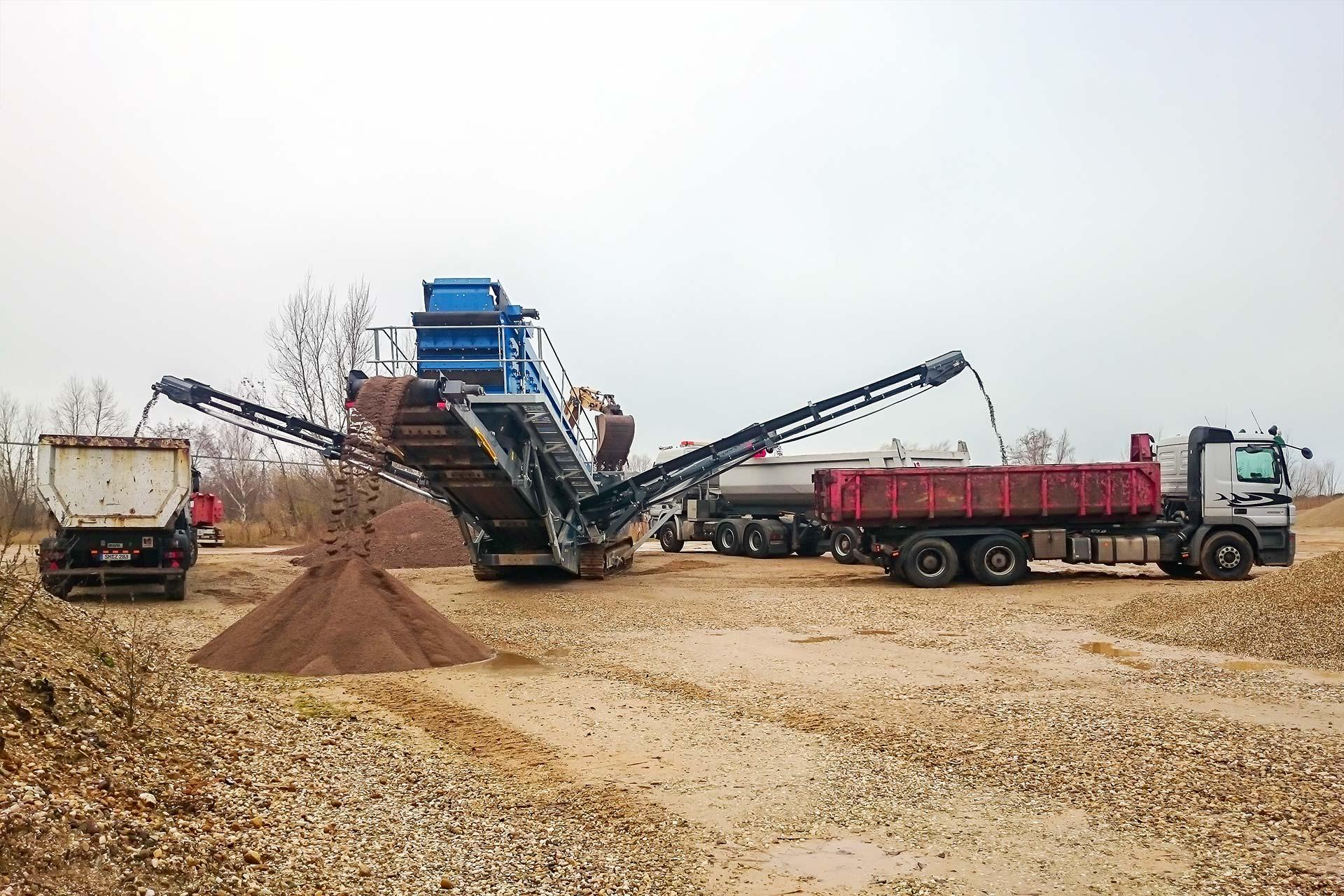 MB Spezialabbruch - Recycling: Recycling von Baumassenabfällen vor Ort