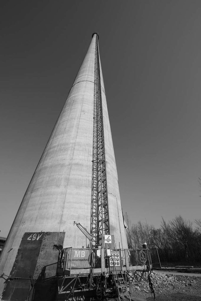 Heizkraftwerk Jena - Schornstein
