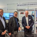 MB Spezialabbruch auf dem 2. Construction Equipment Forum