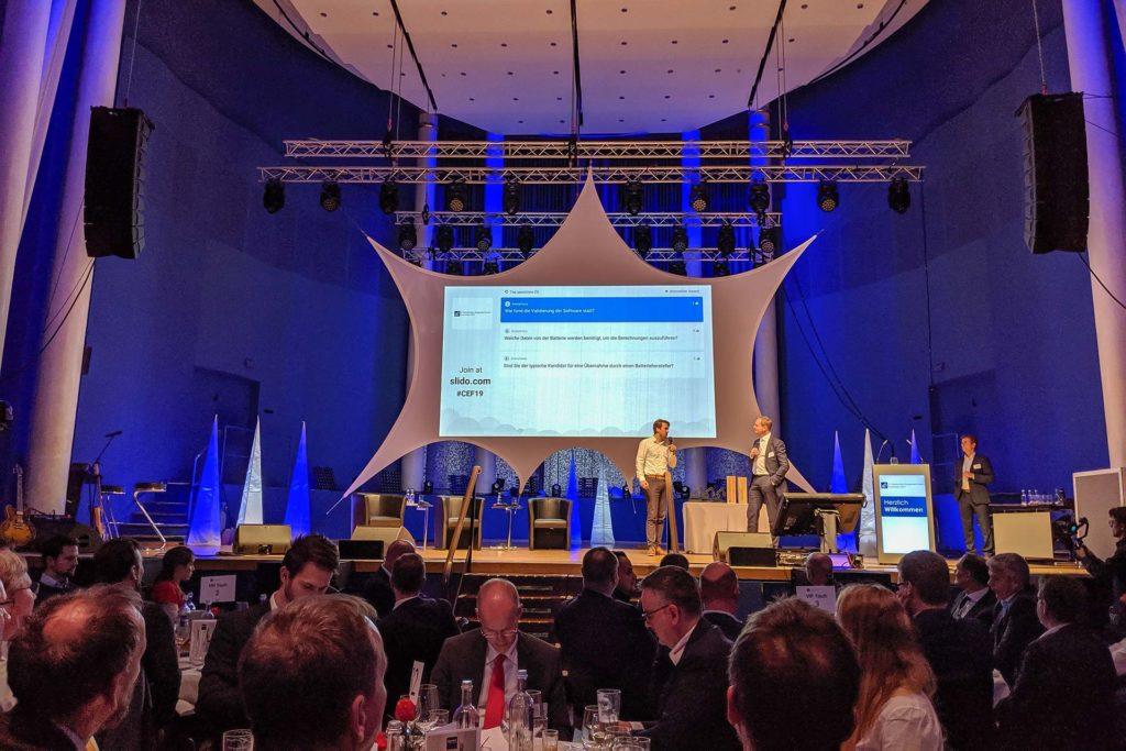 MB Spezialabbruch auf dem 2. Construction Equipment Forum in Mannheim