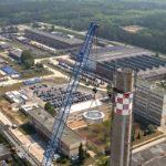MB Spezialabbruch - Projekte: KKW Lubmin, Greifswald - Abbruch mittels Seilsägetechnik