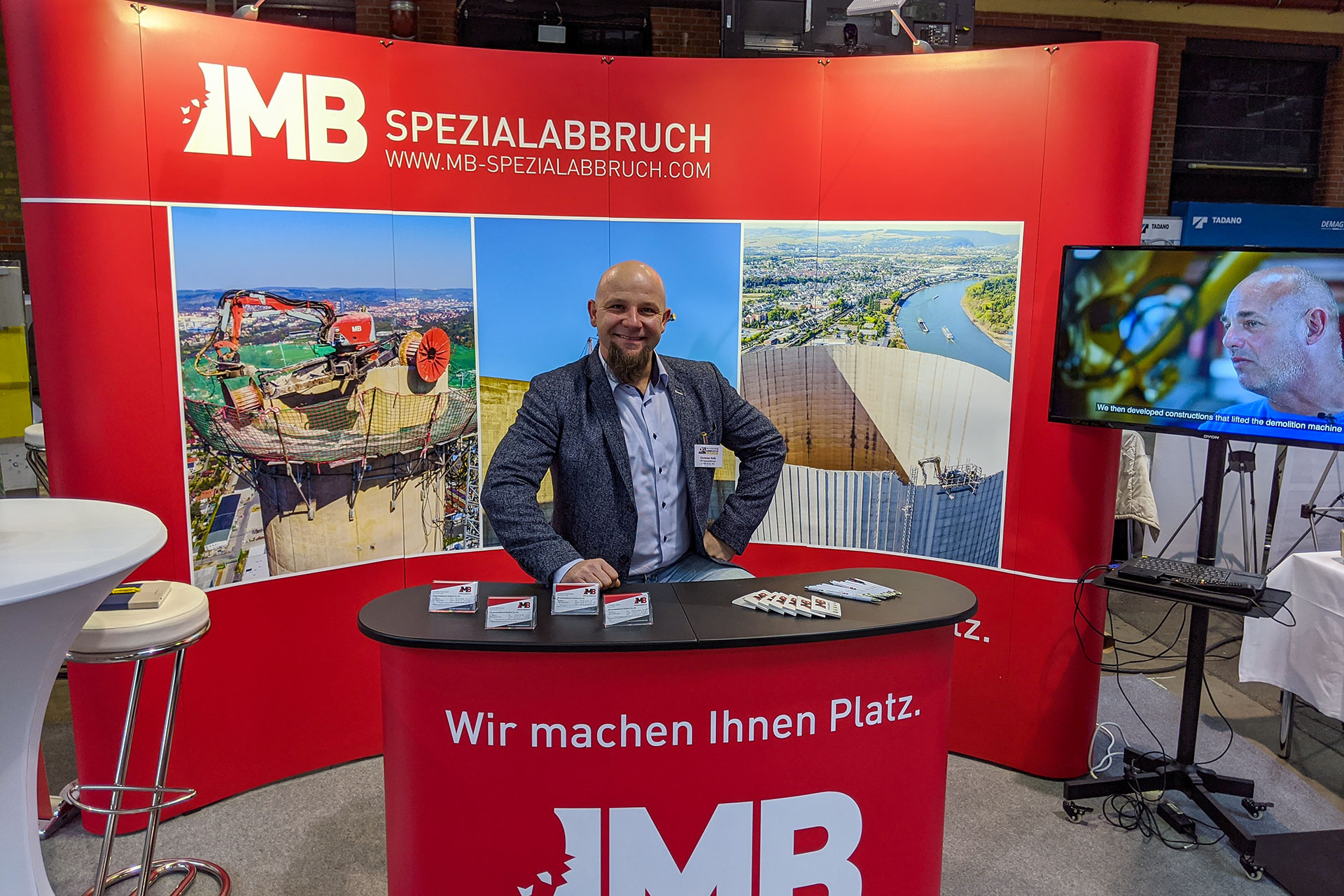 MB Spezialabbruch auf der Fachtagung Abbruch 2020 in Berlin