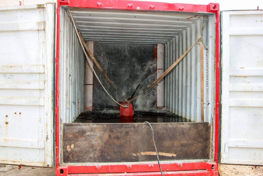 MB Spezialabbruch - Meilensteine: Hydroschild / Hydrocontainer