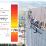 Auszeichnung mit dem vgbe Quality Award 2021